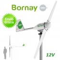 Aerogenerador Bornay 600W 12V - Energía eólica