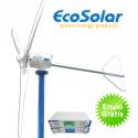 Aerogenerador Ecosolar Aero 1000 24V - Potencia max. 3000W