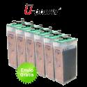 Batería solar estacionaria U-Power UOPZS de 458Ah C100 (353Ah C10)