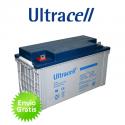 Bateria de Gel Ultracell 140Ah C100 12V