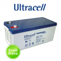 Bateria de Gel Ultracell 250Ah C100 12V