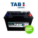 Acumulador monobloco de ciclo profundo TAB 125Ah