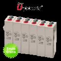 Bateria estacionaria U-Power OPZV 1200Ah (C100)  800AH (C10)