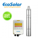 Bomba de agua solar Ecosolar sumergible ESP-310X + regulador
