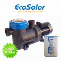Bomba depuradora solar para piscina Ecosolar PS1100 (1,5CV) + regulador