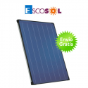 Captador solar plano escosol 2100 xba 2,1 m2