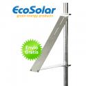 Estructura para poste para panel solar hasta 80W