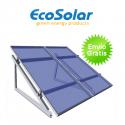 Estructura regulable para suelo o cubierta plana para 1 panel de 80 a 150W