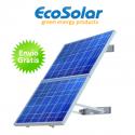 Estructura solar para pared para colocar hasta 2 placas de 180W a 200W