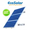 Estructura solar para pared para colocar hasta 3 placas de 100W a 160W