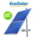 Estructura solar para postes para colocar hasta 2 placas de 180W a 200W