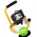 Foco led de 10W con soporte incluído