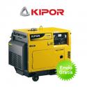 Grupo electrógeno diesel Kipor KDE3500T (silencioso)