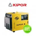 Generador eléctrico diesel Kipor KDE6700TA Automático (silencioso)