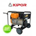 Generador eléctrico de gasolina Kipor KGE6500C