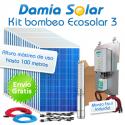Kit de bombeo Ecosolar 3 - Caudal máx. 12000 litros/hora