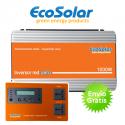 Inversor de red Ecosolar 1000W para autoconsumo solar + Inhibidor inyección cero