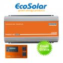 Inversor de red Ecosolar 2000W para autoconsumo solar + Inhibidor inyección cero