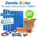 kit autoconsumo solar 1000W de inyección cero