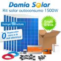 kit autoconsumo solar 1500W de inyección cero