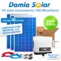 Kit autoconsumo solar 1kW monofásico con pinza amperimétrica