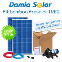 Kit de bombeo Ecosolar 1220 12V - Caudal máx. 1200 litros/hora