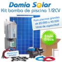 Kit solar bomba depuradora de piscinas (Bomba de 1/2 CV)
