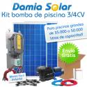 Kit solar bomba de piscina (Bomba de 3/4 CV)
