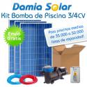 Kit solar bomba depuradora de piscina (Bomba de 3/4 CV)