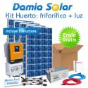 Kit solar Huerto: Nevera-congelador y luz. Cuasi-Mono
