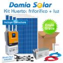Kit solar Huerto: Nevera-congelador y luz