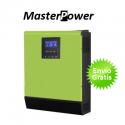 Inversor Masterpower Omega 3Kva Inversor Cargador Regulador 2400W 24V MPPT