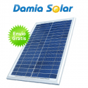 Módulo solar Damia Solar DSP 30W policristalino