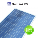 Panel solar Sunlink 130w de potencia. 12v