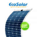 Panel solar flexible Ecosolar 100W monocristalino
