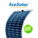 Placa solar flexible Ecosolar 130W monocristalina