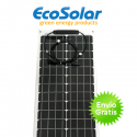 Placa solar flexible Ecosolar 50W monocristalina estrecha