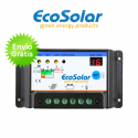 Regulador de carga Ecosolar 30A LED