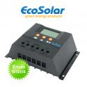 Regulador de carga Ecosolar 60A com ecrã