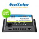 Regulador Ecosolar 20A DUAL para la carga de 2 sistemas de baterías
