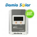 Regulador Maximizador MPPT Damia Solar 20A com ecrã