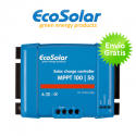 Regulador MPPT Ecosolar 50A 100/50 12V/24V