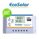 Regulador Ecosolar Premium 20A 12/24V com ecrã