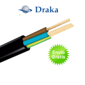 Manguera de cable eléctrico (3 cables) Aceflex 1,5 mm2   100 Metros