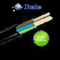 Manguera de cable eléctrico (3 cables) Aceflex 4 mm2   100 Metros