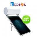 Termosifón solar Escosol Star 200 2.0 para cubierta plana