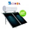 Termosifón solar Escosol Star 300 2.5 para cubierta inclinada