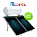 Termosifón solar Escosol Star 300 2.5 para cubierta plana