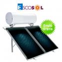 Termosifón solar Escosol Star 300 2.0 para cubierta plana
